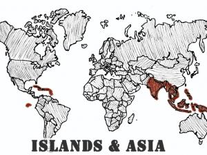 Islands & Asia